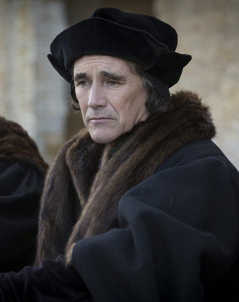 Mark Rylance as Thomas Cromwell in BBC production of Wolf Hall. Loved this series, couldn't look away. The feeling of menace and fear was palpable. Mark Rylance is brilliant in the lead role.