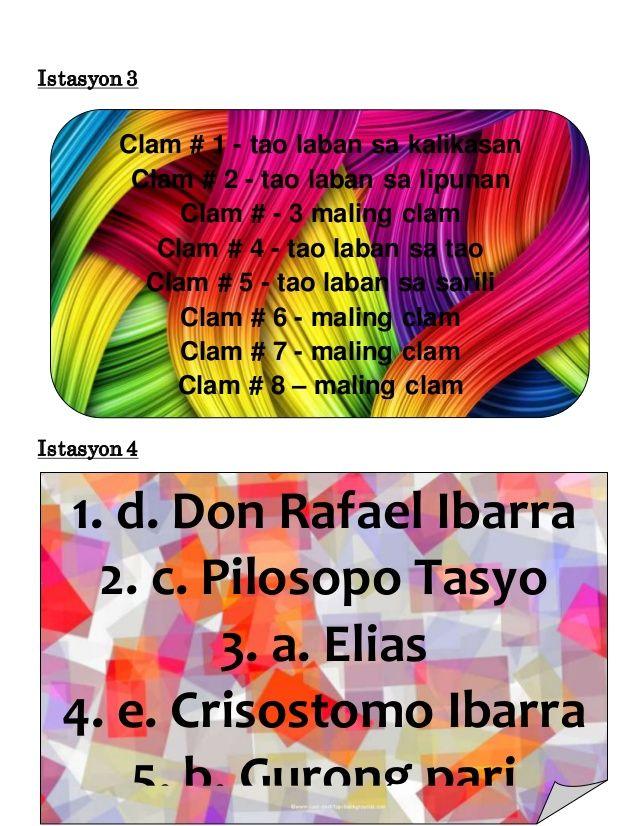 Strategic Intervention Material SIM Filipino NOLI ME