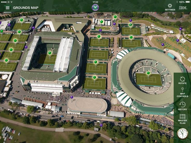 Wherever you go, take Wimbledon's mobile apps with you. Live scores, news, videos and much more.
