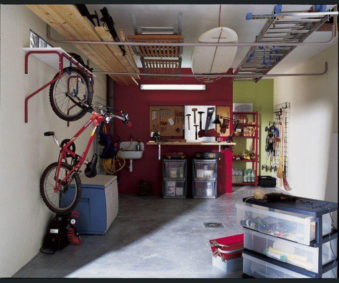 atelier cave garage mottez rangement garage pinterest cave atelier and sous sol. Black Bedroom Furniture Sets. Home Design Ideas