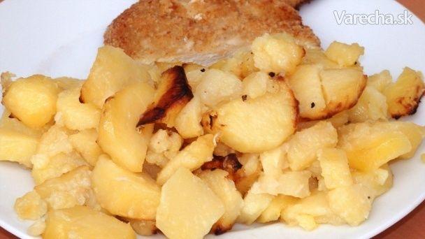 Zapekané zemiaky s cesnakom (videorecept) - Recept