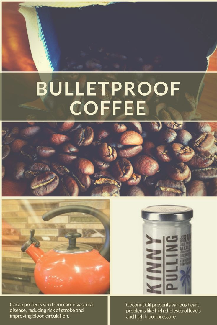 Need to stay regular? Try bullet proof coffee ... you can make it from scratch with 4 ingredients! These ingredients have a lot of healthy properties too, like protection against disease.