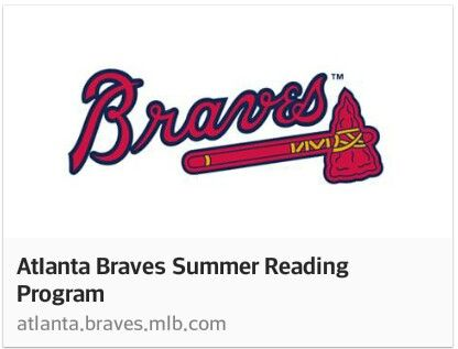FREE KIDS Atlanta Braves Tickets:  The Atlanta Braves, Georgia Public Library and SUBWAY are teaming up for the Atlanta Braves Summer Reading Program  Open to Georgia students in grades K-12. Read one (1) book on sports. One (1) Braves game ticket is rewarded per student. (Tickets can be printed or mailed.) One (1) SUBWAY Restaurants Fresh Fit for Kids Meal voucher.  Use this link to Register : http://atlanta.braves.mlb.com/atl/community/reading_program.jsp