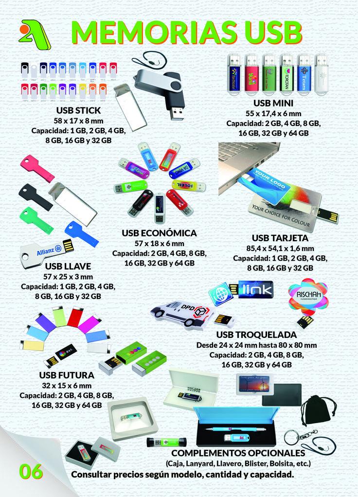 Página 6 - Memorias USB