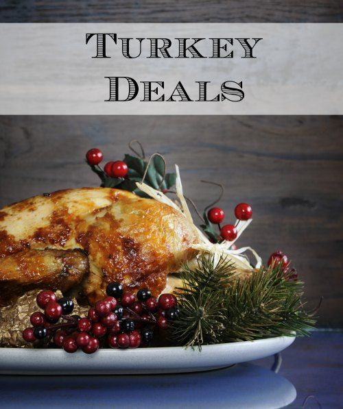 HOT Turkey Deals for many grocery stores and super stores to help find you the best deal on your turkey this holiday season! Updates automatically each week so be sure to bookmark this page for savings! #thanksgiving #turkey #frugal