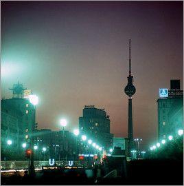 Klaus Morgenstern - DDR - Berlin bei Nacht 1969