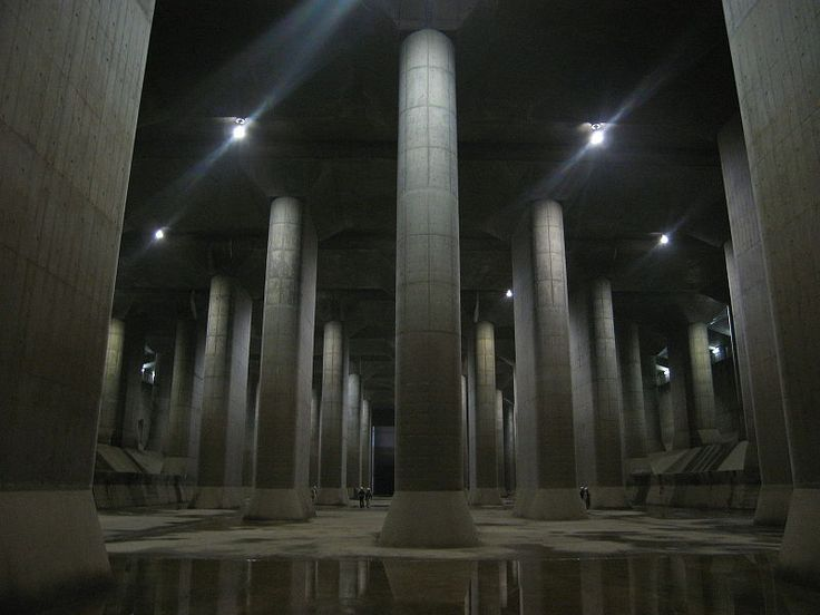 The massive Tokyo sewer system. - Imgur