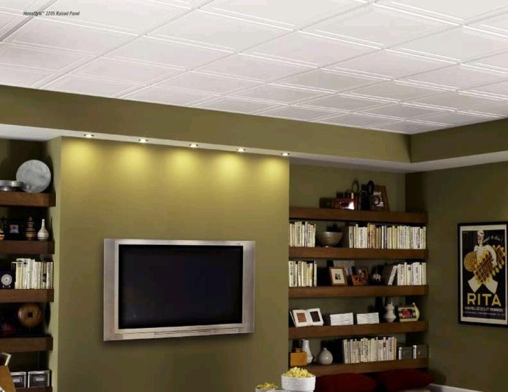 25 best basement bedroom images on pinterest unfinished basement ceiling unfinished basements. Black Bedroom Furniture Sets. Home Design Ideas