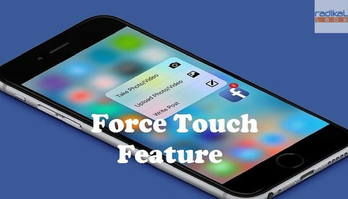3D Touch will give users shortcuts to features they use frequently by pressing on the home screen or within applications. Here's how it works.