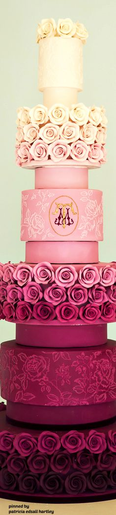 Rose Ombre - Rosalind Miller Cakes