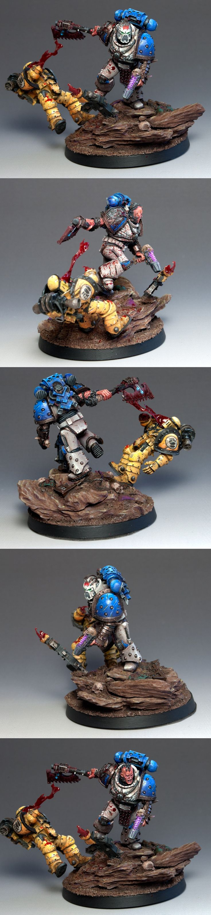 CoolMiniOrNot - World Eater Kharn during the Siege of Terra by ColonialRaptor