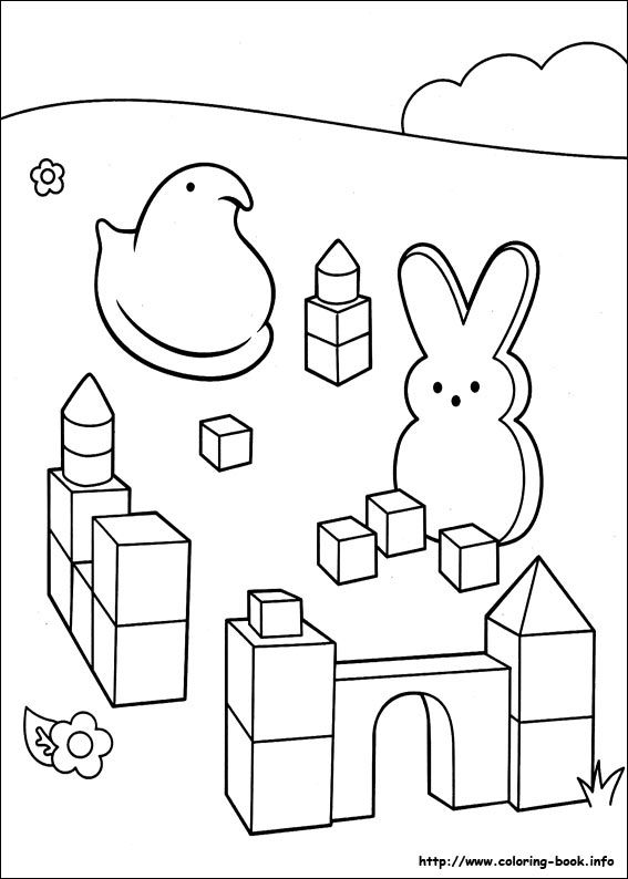 coloring pages of marshmallows - photo#20
