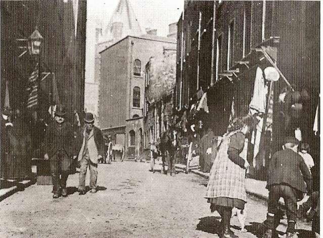 Nicholas St., The Liberties, Dublin c 1910