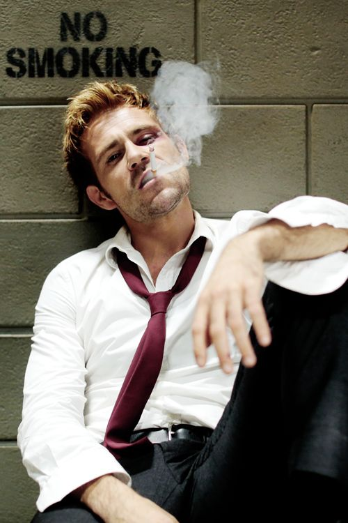 John Constantine doesn't play by the rules. #SaveConstantine