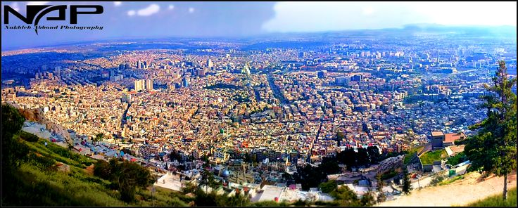 Syria#Damascus#Mountain#Kassyoun#View