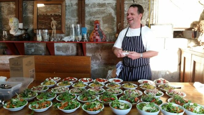 Selection of Poppet's Pantry salads