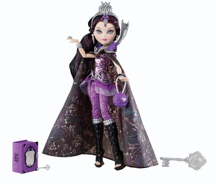 Amazon.com: Ever After High Legacy Day Raven Queen Doll: Toys & Games