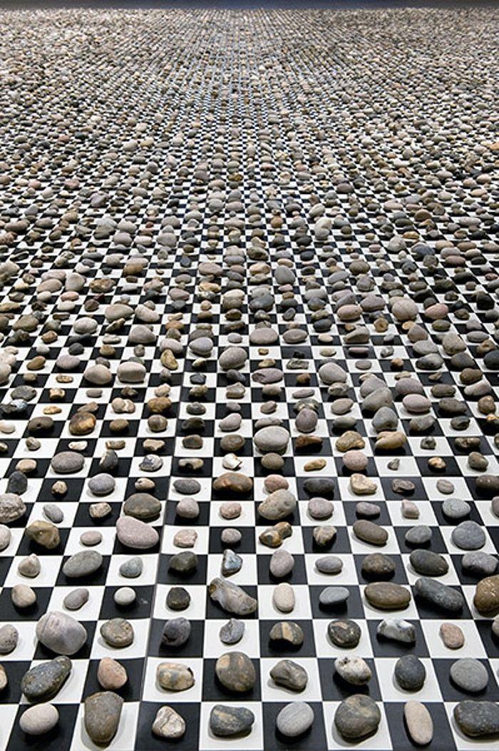 Mark Wallinger: 10000000000000000, 2012 (detail)