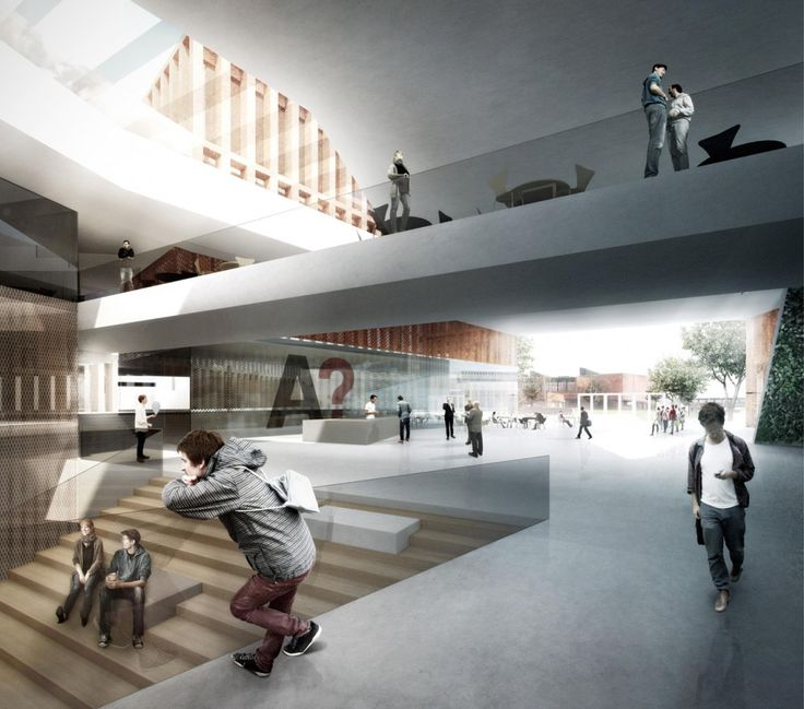 Gallery of verstas architects selected for new core of aalto university in finland 6