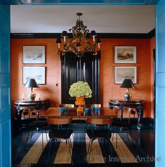Dining Room Orange: 81 Best Orange Dining Room Images On Pinterest