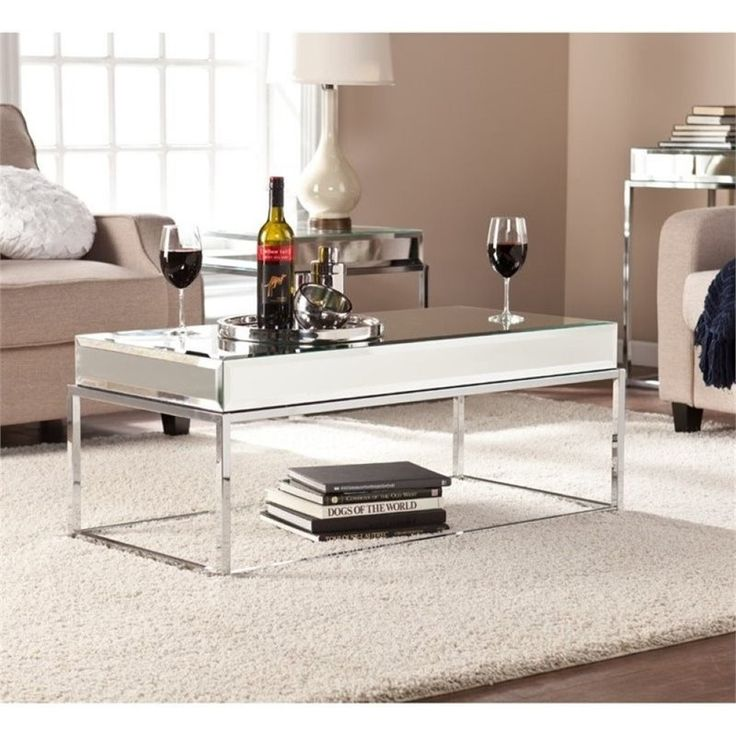 Mirrored Tray For Coffee Table: Best 25+ Mirrored Coffee Tables Ideas On Pinterest
