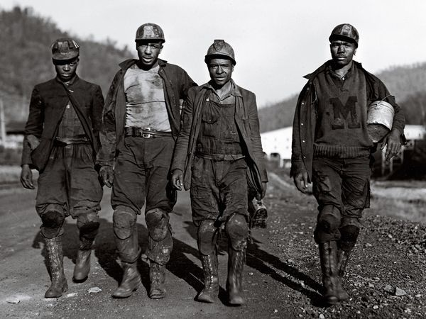 Miners in West Virginia