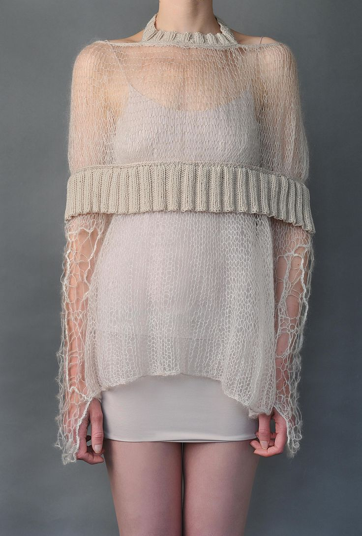 Crochet Cape Sweater | SHADES.OF.TRUE | Shop | NOT JUST A LABEL