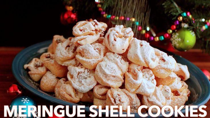 How To Make Perfect Meringue Shell Cookies - (Rakushki) - YouTube