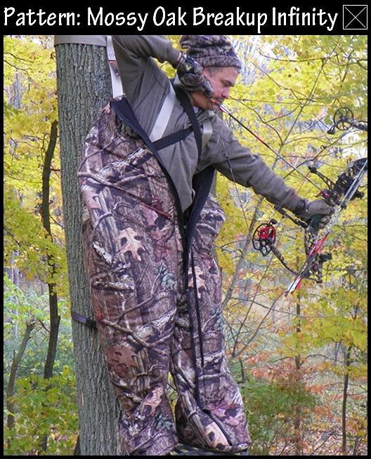 Heater Body Suit shown in Mossy Oak Break Up Infinity