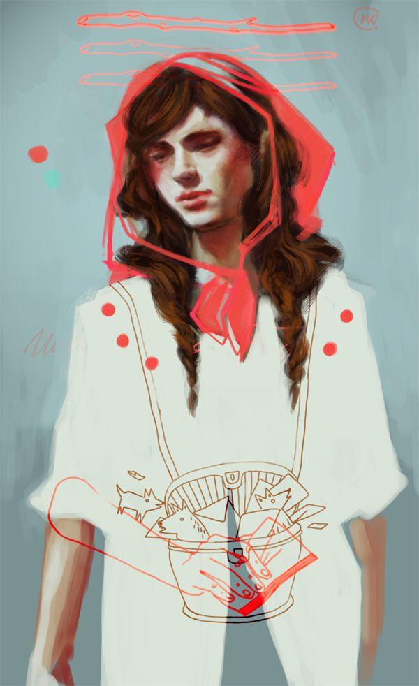 illustration pack 2012-2013 by Magdalena Kapinos, via Behance