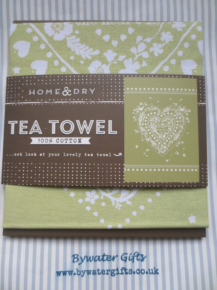 Home is where the heart is tea towel (BG388)