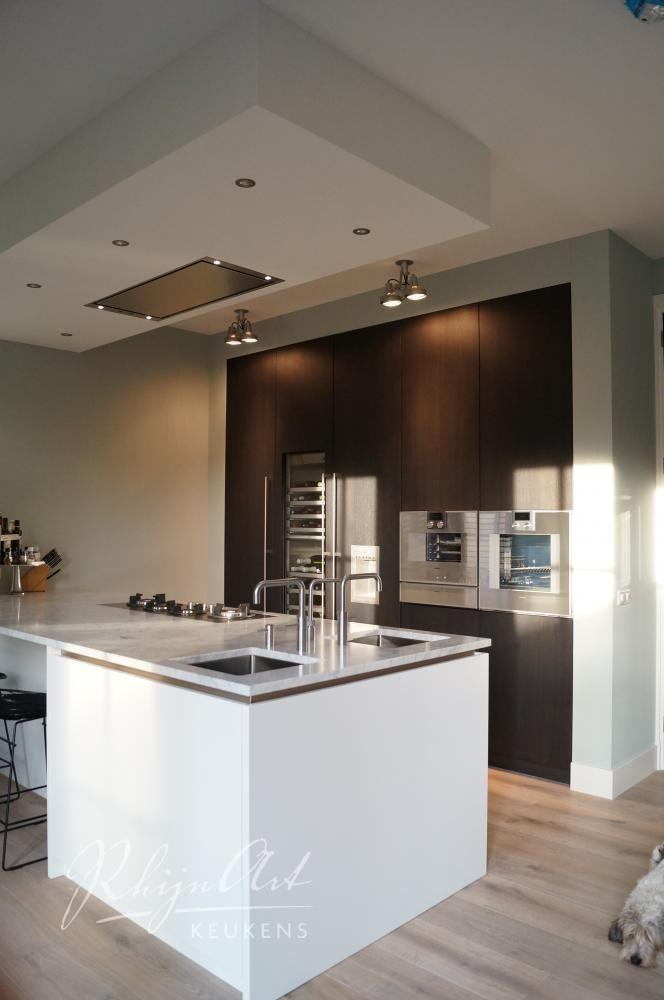 rhijnart-keukens-zeist-keukens-interieur-gaggenau-marmer-quooker-eikenfineerkeuken.jpg (664×1000)