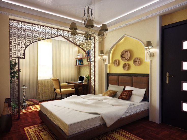 Стилизация спальни под арабский стиль