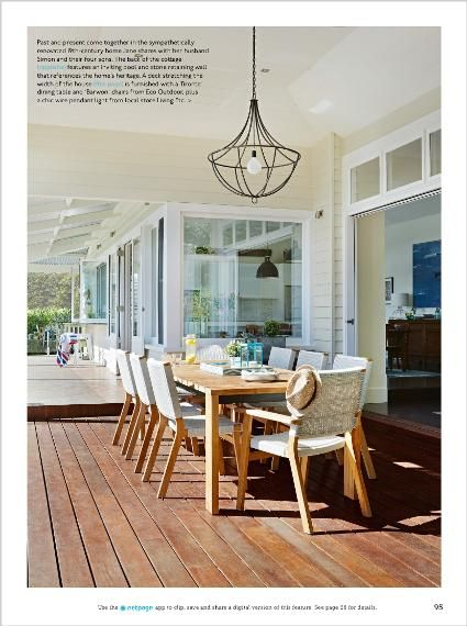 Homes: Eternal sunshine. Clipped from Home Beautiful using Netpage.