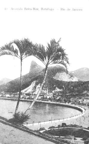 AVENIDA BEIRA MAR 1913 CARTÃO POSTAL- Rio de Janeiro - Brasil