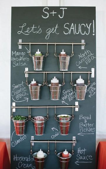 INTERACTIVE STATIONS AND FAMILY-STYLE SERVING. The foodie movement has officially made its way into wedding menus. Locally sourced and seasonal ingredients, location-specific specialties and interactive FOOD STATIONS are transforming sit-down dinners into playful family-style meals https://www.theknot.com/content/spring-wedding-trends