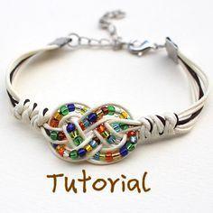 eBook Feliz Free Tutorial to Chinese knot bracelet by KnotAWish