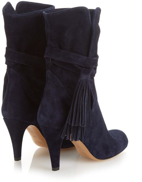 suede ankle boots tassel - Google Search