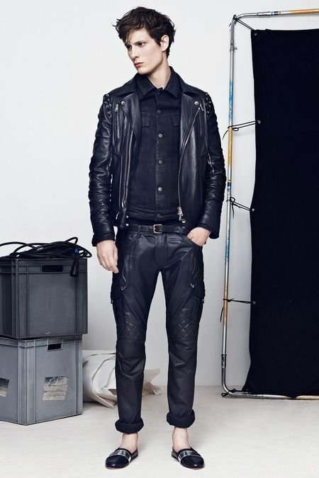 Balmain | Spring 2014 Menswear Collection | Style.com