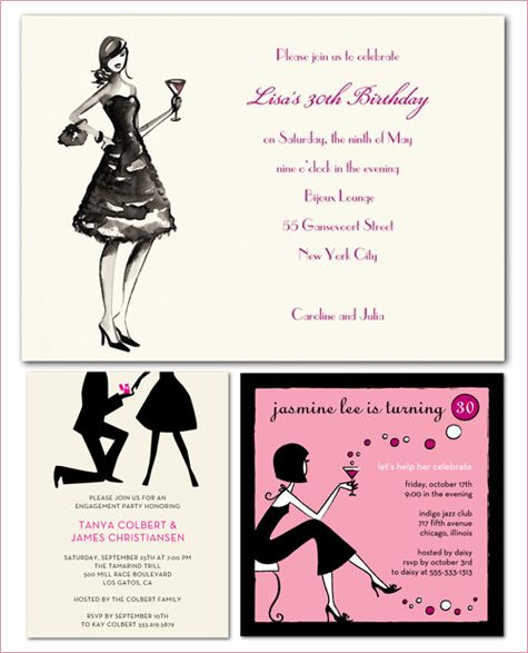 """This Black, White, and Pink wedding theme from brides.com is also fabulous inspiration for a flirty, """"French Candy"""" themed birthday party or bridal shower"""
