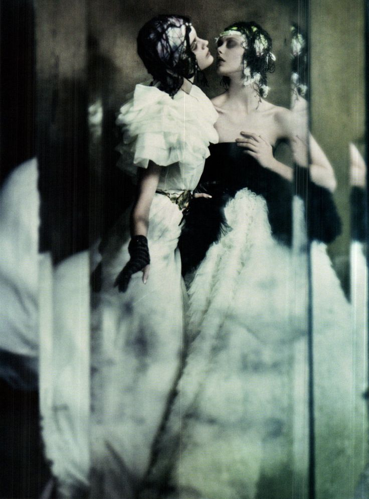The Haute Couture - Vogue Italia by Paolo Roversi, September 2011