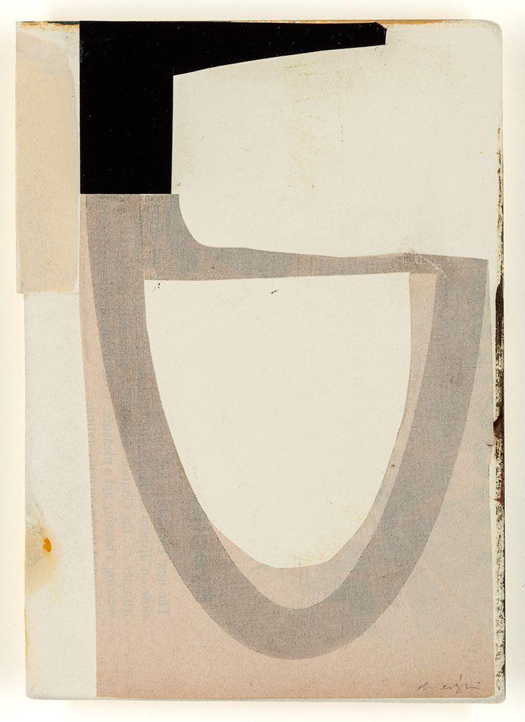 Ben McLaughlin - Collage 2017 untitled (J12) at Wilson Stephens & Jones