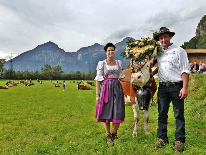 16 best gauder fest austria images on pinterest austria dirndl attending an almabtrieb festival in tirol austria when the cows come home malvernweather Image collections
