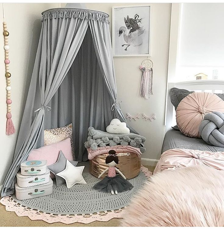 Teepee Girls room