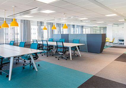 burmatex | carpet tiles | commercial carpets | carpet sheets | news | burmatex carpet tiles in Sweden's Best Looking Office 2013