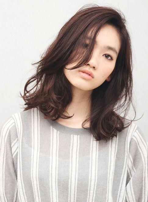 ニュアンスミックスカールミディアム 【MAKE'S】 http://beautynavi.woman.excite.co.jp/salon/25799?pint ≪ #mediumhair #mediumstyle #mediumhairstyle #hairstyle・ミディアム・ヘアスタイル・髪形・髪型≫