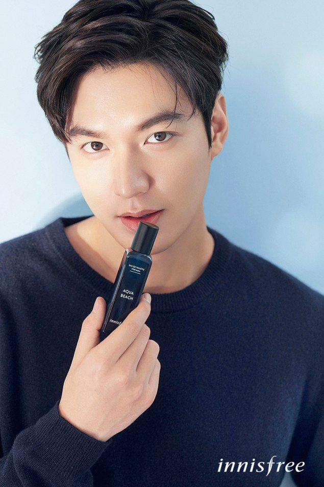 Lee Min Ho glows in new Innisfree photos