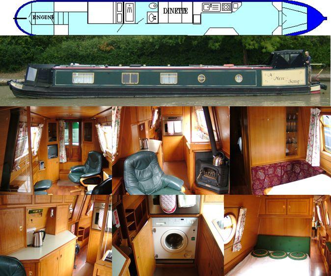 A NEW SONG 2002 60FT SEMI-TRAD- SOLD www.calcuttboats.com
