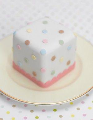 Polka Dot Mini Cake