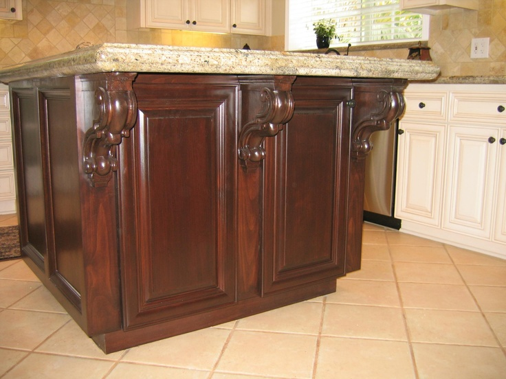 for @ang (Cultivate.com): Cream Kitchens, Projects, Cream Cabinets, Wood Cabinetri, The Angel, Cabinetmak Features, Islands, Photo, Garcia Cabinetmak